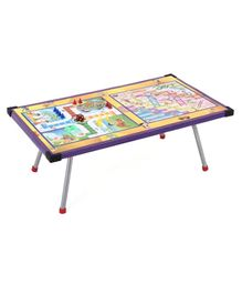 Chhota Bheem Ludo Table with Foldable Legs - Multicolor