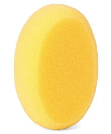 Oval Shape Bath Sponge - Yellow