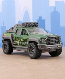 Dickie Pull Back Pick Up Truck Toy - Green