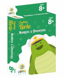 Luma World Educational Maths Flash Cards Numbers, Money & Operations Theme Pack of 51 - Green