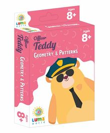 Luma World Educational Maths Flash Cards Geometry & Pattern Theme Pack of 51 - Pink