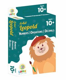 Luma World Educational Maths Flash Cards Decimals Money & Integers Theme Pack of 51 - Green