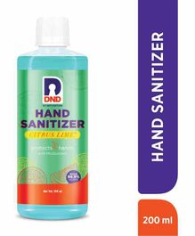 DND Alcohol Based Hand Sanitizer - 200 ml