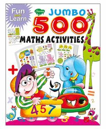 Sawan Math Activity Book - English