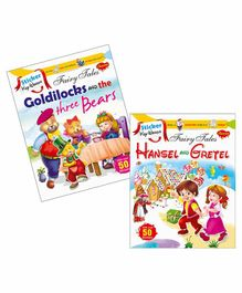 Sawan Sticker Key Words Book Goldilocks & The Three Bears & Hansel and Gretel Set of 2 - English