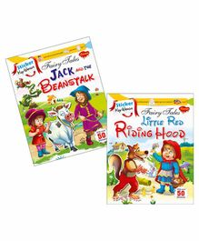 Sawan Sticker Key Words Book Jack and the Beanstalk & Little Red Riding Hood Set of 2 - English