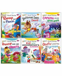 Sawan My Pretty Moral Stories Board Books Set of 10 - English