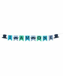 Rv Praman I Am One Banner Blue - Length 120 cm