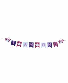 Rv Praman I Am One Banner Pink - Length 120 cm