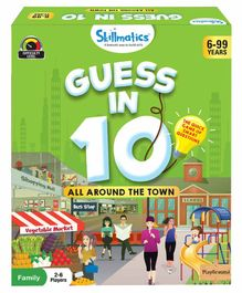 Skillmatics Guess in 10 All Around The Town Card Game Multicolor - 58 Cards