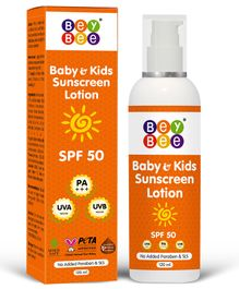 BeyBee SPF 50 Baby Sunscreen Lotion for Kids & Newborn - 120 ml