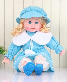ToyMark Fashion Doll with Music Blue - Height 52 cm