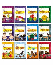 Maple Press Picture Book Set of 12 - Hindi