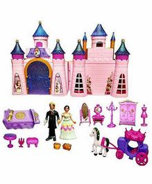 Yamama Castle Dollhouse with Accessories - Multicolor