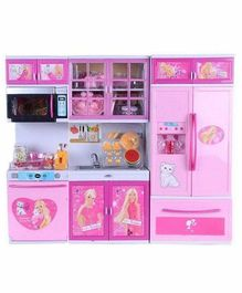 Yamama Kitchen Set with Lights & Sounds - Blue