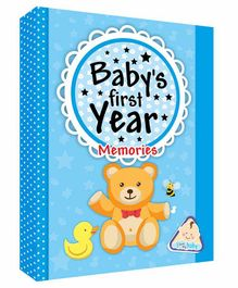Future Books Baby's First Year Memories Blue - English
