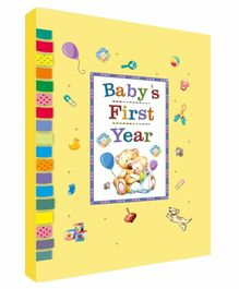 Future Books Baby's First Year Memories Book Yellow - English