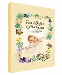 Future Books Baby's First Year Memories Book Beige - English