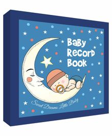 Future Books Baby Record Book Blue - English