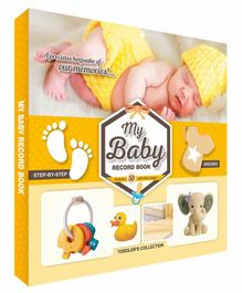 Future Books Baby Record Book Yellow - English
