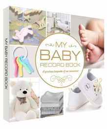 Future Books Baby Record Book White - English