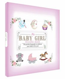 Future Books Baby Girl Record Book Lavender - English