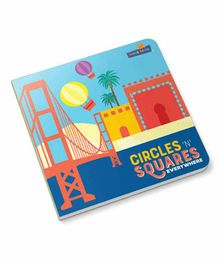 Coco Bear Circles & Square Everywhere Board Book - English