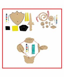 Kidoz DIY Craft Kit Combo - Multicolor