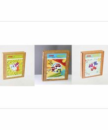 Kidoz DIY Craft Kit Combo Pack of 3 - Multicolor