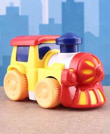 Mini Operating Free Wheel Train - Yellow Red