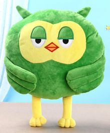 Toytales Owl Shaped Cushion - Green