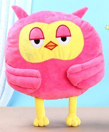 Toytales Owl Shaped Cushion - Pink