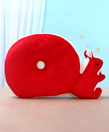 Toytales Squirrel Shaped Cushion - Red