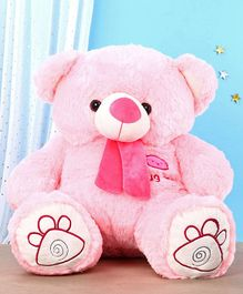 Toytales Teddy Bear Soft Toy Pink - Height 70 cm