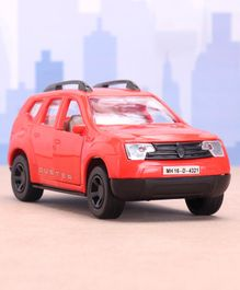 Shinsei Pull Back Duster SUV Car Toy - Red