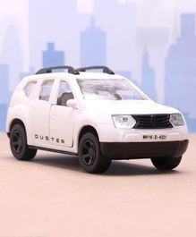 Shinsei Pull Back Duster SUV Car Toy - White
