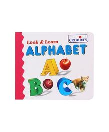 Creative's Look & Learn  Alphabet Book - English