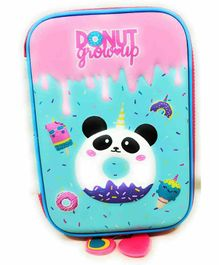 FunBlast Pencil Pouch Donut Print - Multicolor