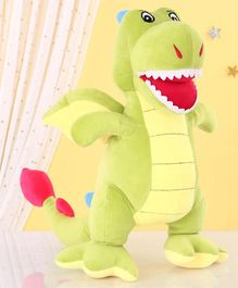 Zoe Dinosaur Soft Toy Green - Height 40 cm