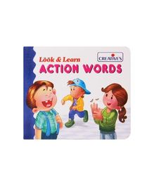 Creative's Look & Learn  Action Words Book - English