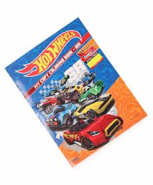 Imagician Playthings Hotwheels Copy Colouring Book - Multicolor