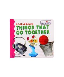 Creative's Look & Learn Things That Go Together Book - English