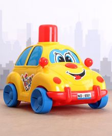 Lovely Push N Go Toy Car - Yellow