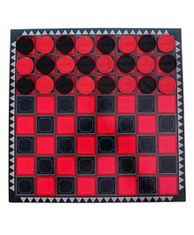 Creative's Draughts Game - Red Black