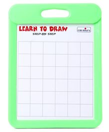 Creative Learn To Draw Bird & Animals Board - Green