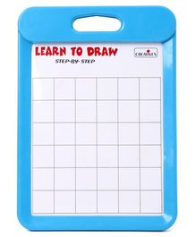 Creative Learn To Draw Dinosaurs & Sea Animals  Board - Blue
