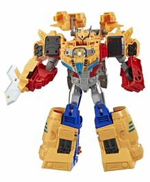 Transformers Cyberverse Spark Armor Ark Power Optimus Prime Action Figure - 28.95 cm
