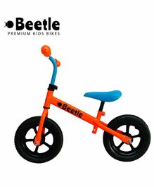 Beetle Toddler Balance Bike Neon Orange - 12 Inches