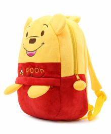 Kiddiewink Cartoon Shaped Plush Nursery Bag Red Yellow - 12 Inches