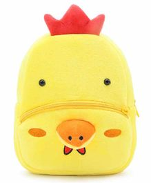 Kiddiewink Hen Shaped Plush Nursery Bag Yellow - 12 Inches